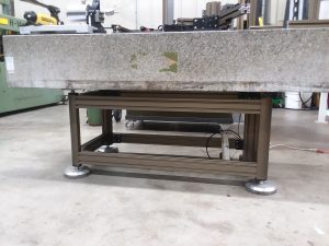 Two-Ton Metrology Table on an Angle Lock™ table!